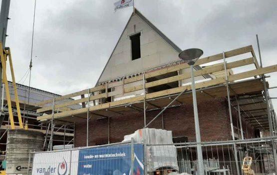 Bouw vrijstaande woning met dakkapellen in Wezep - aannemersbedrijf Wielink (3)