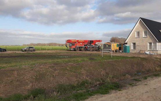 Bouw vrijstaande woning met kelder op de Dijkjes in Elburg - aannemersbedrijf Wielink