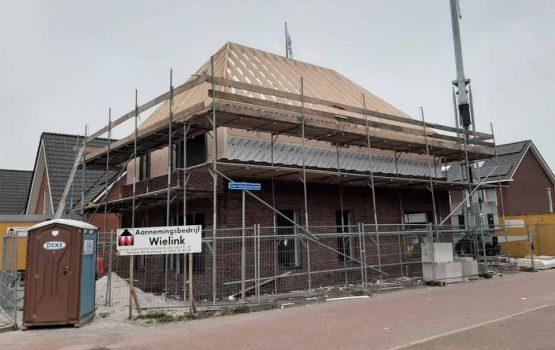 bouw vrijstaand woning met schilddak in wezep - aannemersbedrijf Wielink (2)