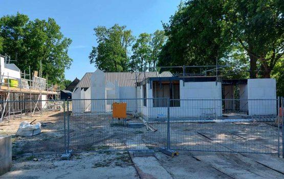 bouw verstaande woning in Nunspeet - Molenbeek door Aannemersbedrijf Wielink