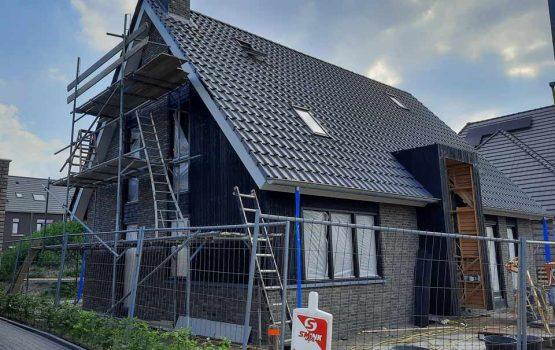bouw vrijstaande woning op de Dijkjes - Aannemersbedrijf Wielink uit Doornspijk